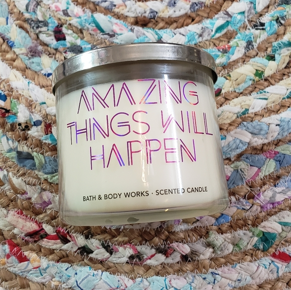 Amazing Things Will Happen 3 wick candle